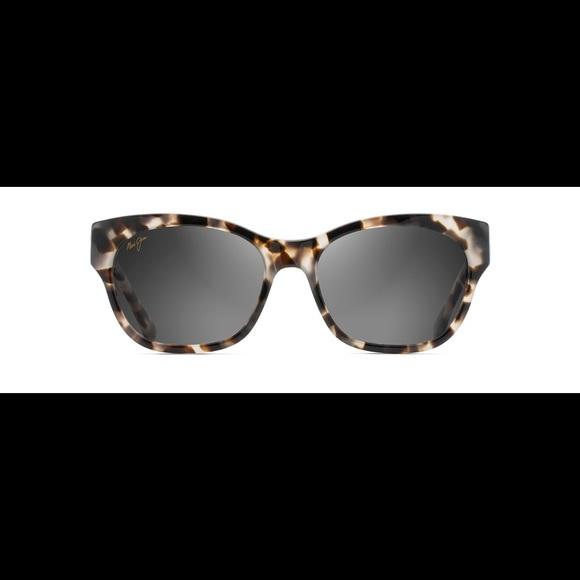 63abf4716963 Maui Jim Accessories | Tortoise Shell Monstera Leaf Sunglasses ...